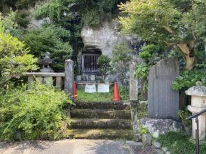 相馬次郎師常之墓